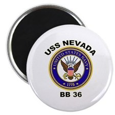 USS Nevada BB 36 Magnet