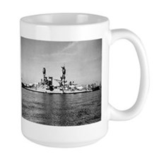 USS Nevada Ship's Image Mug