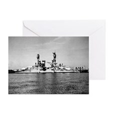 USS Nevada Ship's Image Greeting Cards (Pk of 10)