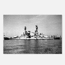 USS Nevada Ship's Image Postcards (Package of 8)