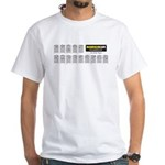 Guitar Chords White T-Shirt