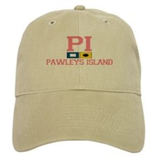 Pawleys Island SC - Nautical Flags Design Baseball Cap