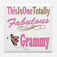 Totally Fabulous Grammy Tile Coaster