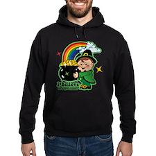 Believe In Leprechauns Hoodie