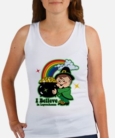 Believe In Leprechauns Women's Tank Top