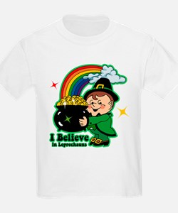 Believe In Leprechauns T-Shirt