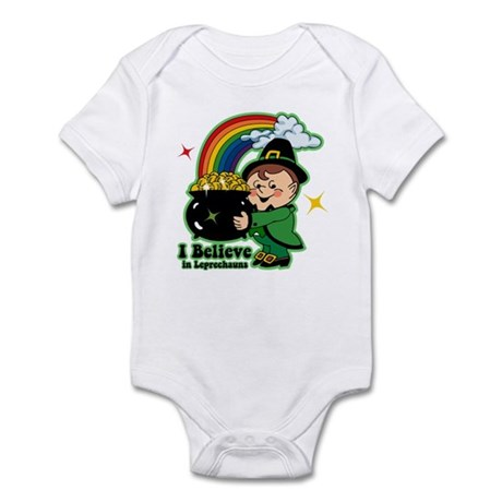 Believe In Leprechauns Infant Bodysuit