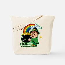 Believe In Leprechauns Tote Bag