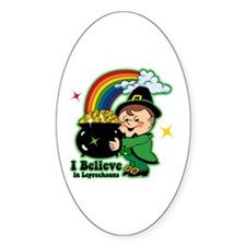 Believe In Leprechauns Decal