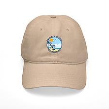 Pawleys Island SC - Beach Design Baseball Cap