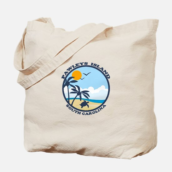 Pawleys Island SC - Beach Design Tote Bag
