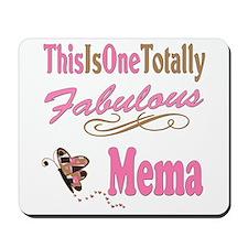 Totally Fabulous Mema Mousepad