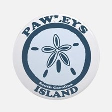 Pawleys Island SC - Beach Design Ornament (Round)