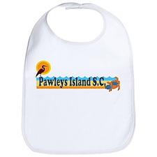 Pawleys Island SC - Beach Design Bib