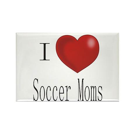 Funny Soccer Rectangle Magnet (10 pack)