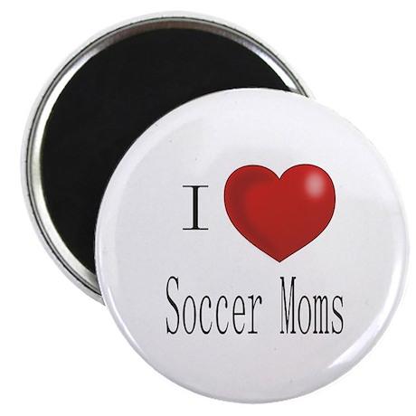 Funny Soccer Moms Magnet