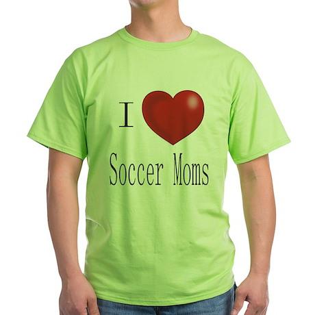 Funny Soccer Green T-Shirt
