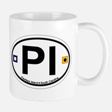 Pawleys Island SC - Oval Design Mug
