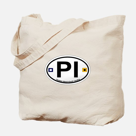 Pawleys Island SC - Oval Design Tote Bag
