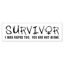 Survivor Bumper Bumper Sticker