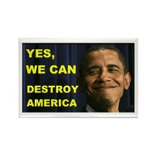 HE MAY DESTROY AMERICA Rectangle Magnet (10 pack)