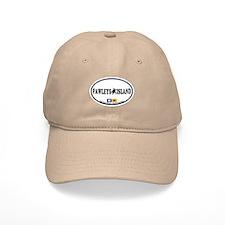 Pawleys Island SC - Oval Design Baseball Cap