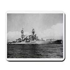 USS Pennsylvania Ship's Image Mousepad