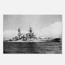 USS Pennsylvania Ship's Image Postcards (Package o