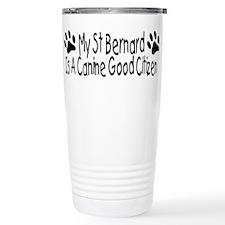 St Bernard Canine Good Citize Travel Mug