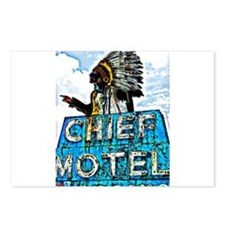 Chief Motel Postcards (Package of 8)