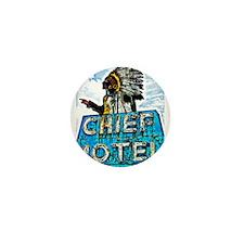 Chief Motel Mini Button