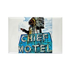 Chief Motel Rectangle Magnet (10 pack)