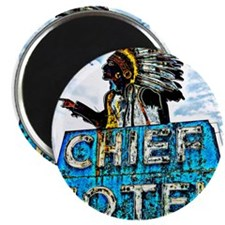 """Chief Motel 2.25"""" Magnet (100 pack)"""