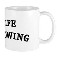 Enjoy Life Go Rowing Mug