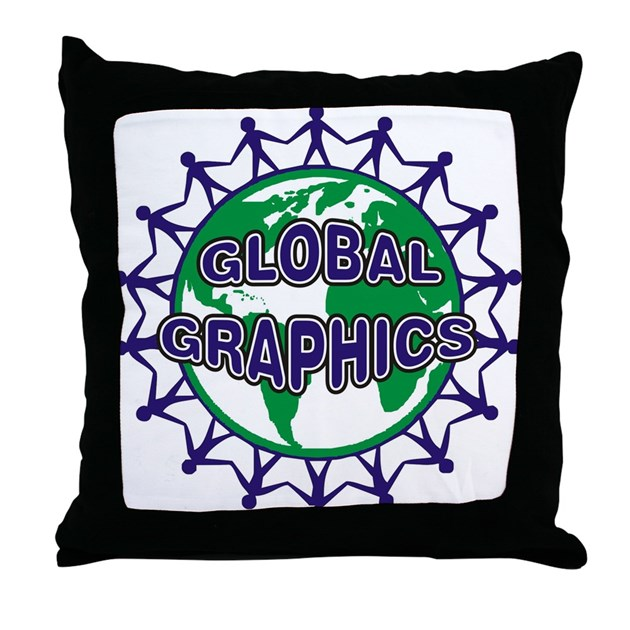 Custom Down Throw Pillows : CUSTOM Throw Pillow by GlobalGraphics