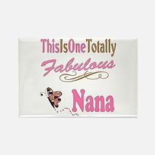 Totally Fabulous Nana Rectangle Magnet (100 pack)
