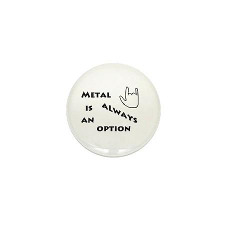 Metal Option Mini Button (10 pack)