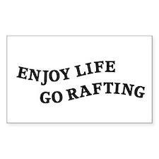 Enjoy Life Go Rafting Decal