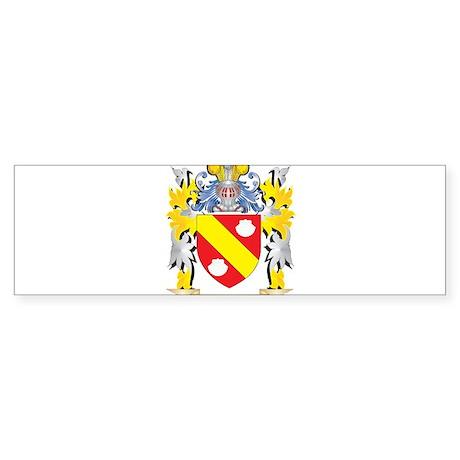 Peiro Family Crest - Coat of Arms Bumper Sticker