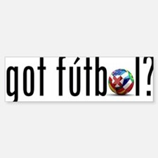 got futbol? Bumper Bumper Sticker