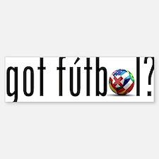 got futbol? Sticker (Bumper)