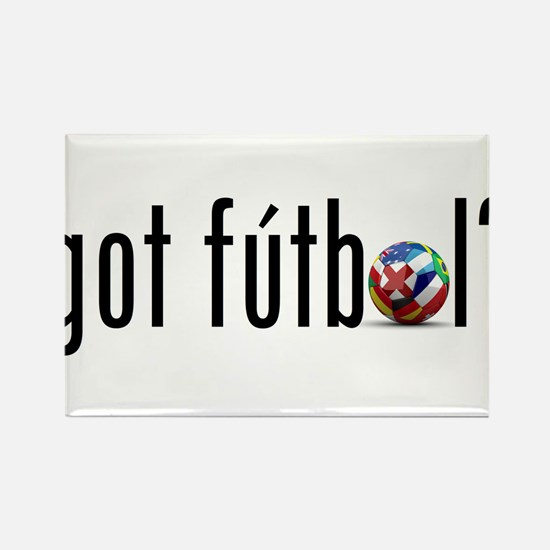 got futbol? Rectangle Magnet