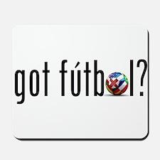 got futbol? Mousepad