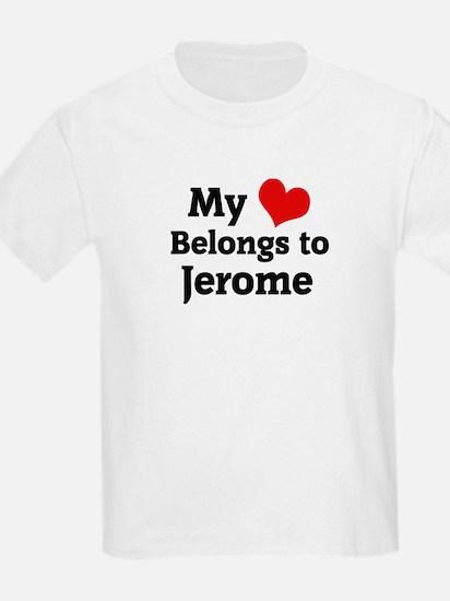 My Heart: Jerome Kids T-Shirt