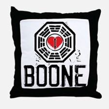 I Heart Boone - LOST Throw Pillow