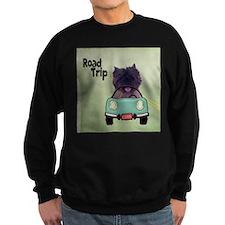 Cairn Terrier Road Trip Sweatshirt