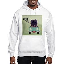 Cairn Terrier Road Trip Hoodie Sweatshirt