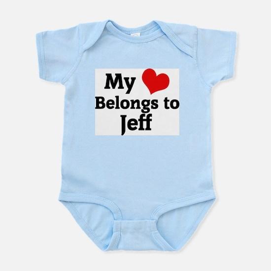My Heart: Jeff Infant Creeper