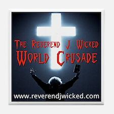 Reverend J. Wicked Tile Coaster