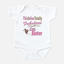 Totally Fabulous Little Siste Infant Bodysuit